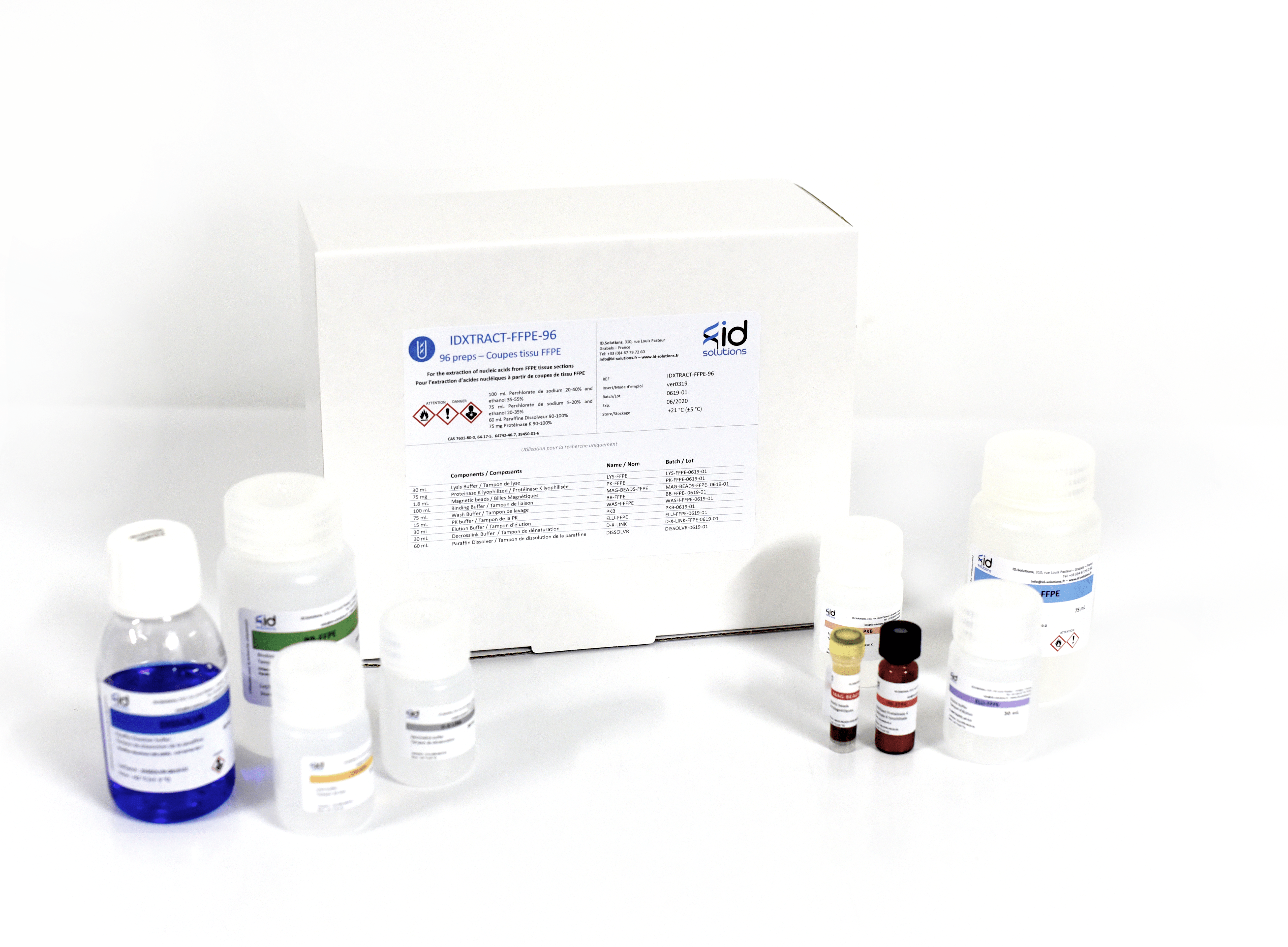 IDXTRACT-MAG-FFPE- DNA extraction isolation from FFPE