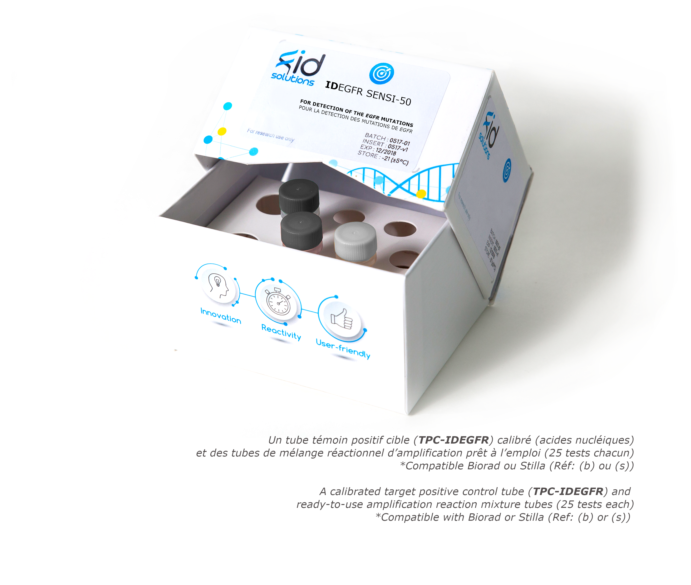 IDEGFR SENSI - Circulating tumor DNA EGFR Mutation Detection Kit based on digital PCR