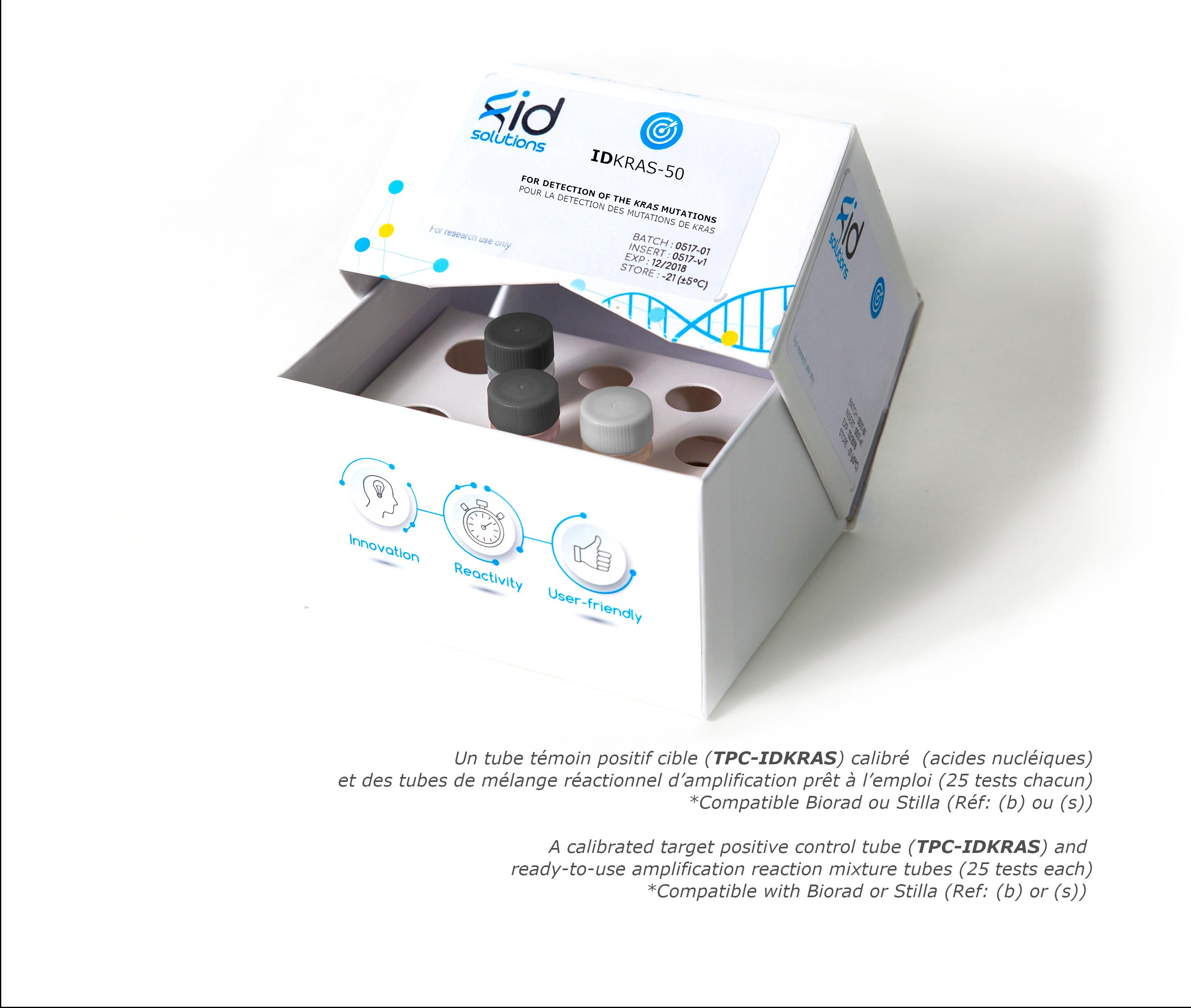 IDKRAS- Tumor DNA or circulating DNA or ctDNA KRAS Mutation Detection Kit based on Digital PCR